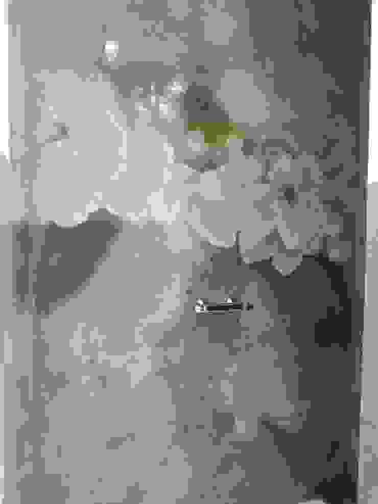 Meraki di Irene Mancini Decorazione d'Interni Modern Bathroom Concrete Grey
