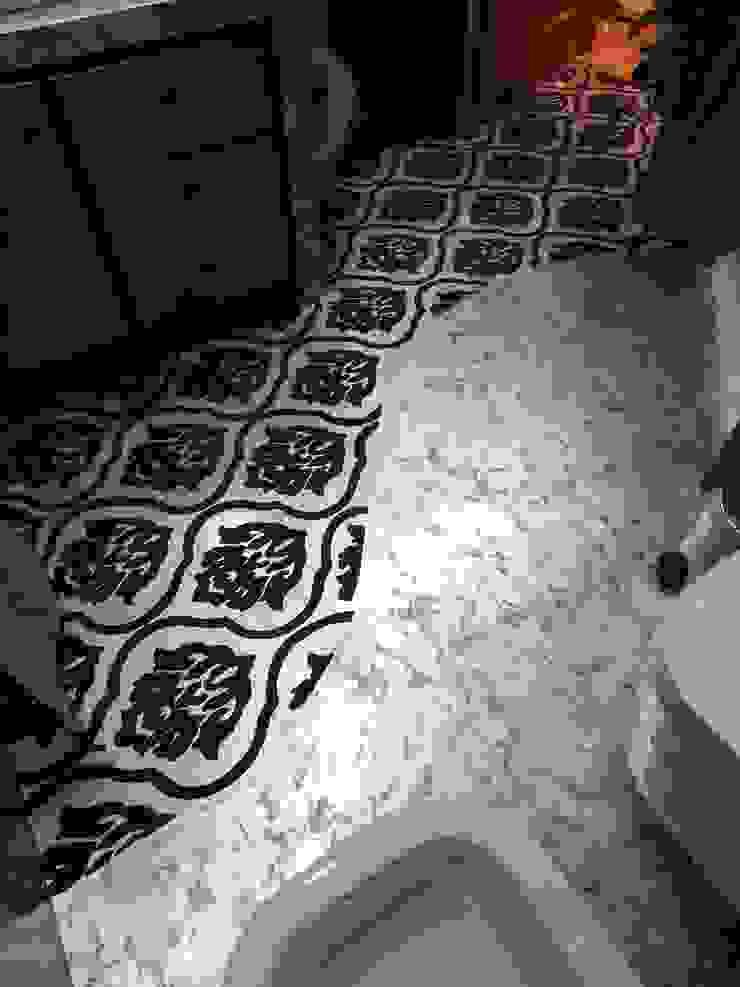 Meraki di Irene Mancini Decorazione d'Interni Modern Bathroom Concrete Metallic/Silver