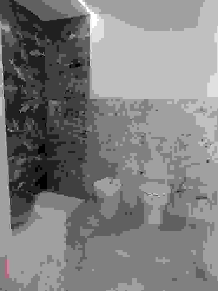 Meraki di Irene Mancini Decorazione d'Interni Modern Bathroom Concrete Multicolored