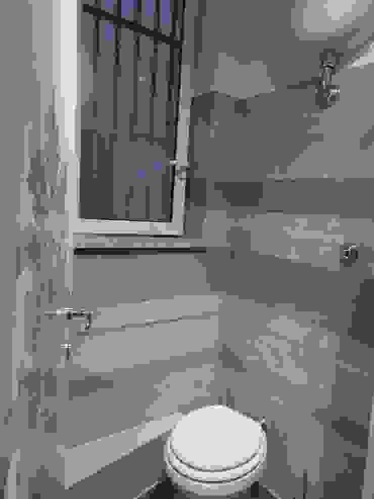 Meraki di Irene Mancini Decorazione d'Interni Modern Bathroom Concrete Beige