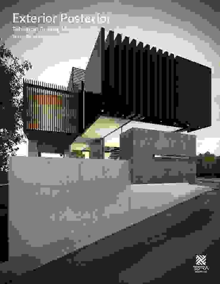 Minimalist houses by Fermin de la Mora Minimalist Iron/Steel