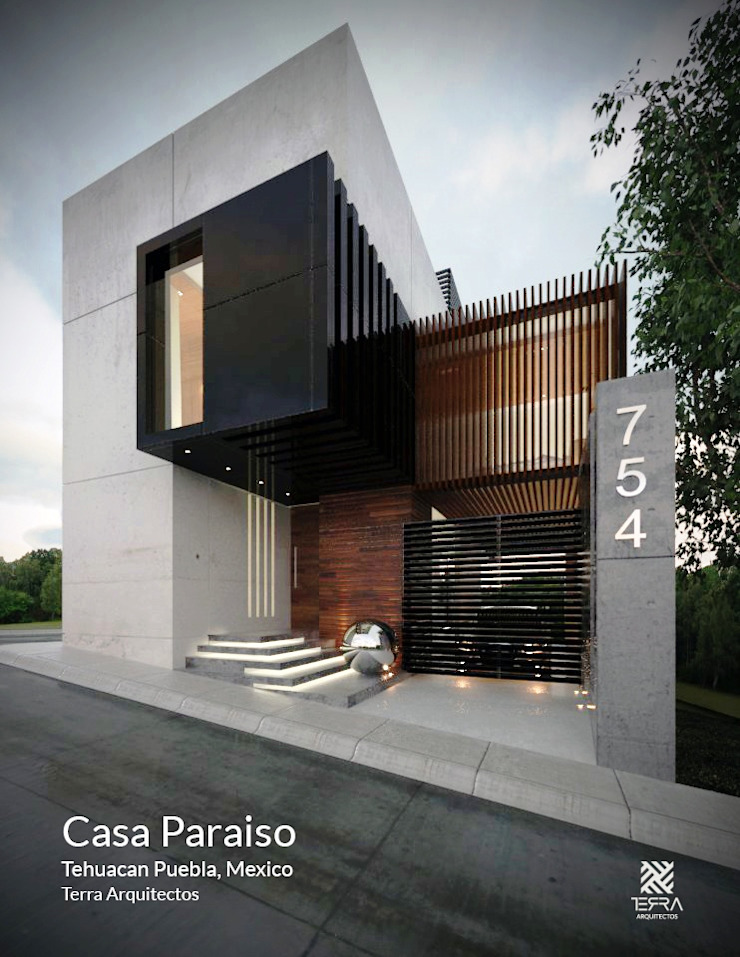 Minimalist house by Fermin de la Mora Minimalist Concrete