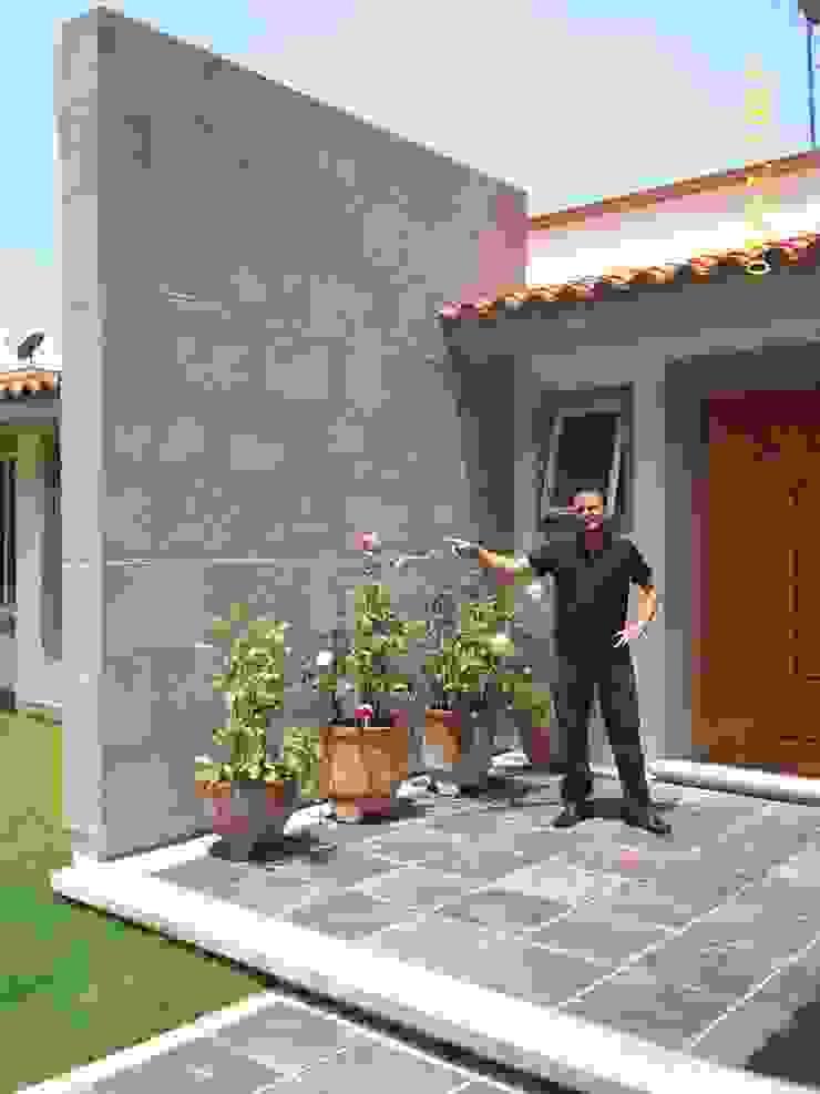 CASA WILMA Casas clásicas de SG Huerta Arquitecto Cancun Clásico Piedra