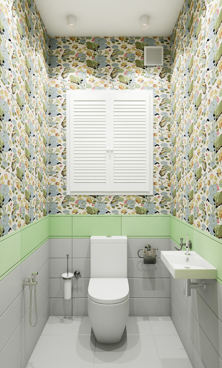 Eclectic style bathroom by Marina Sarkisyan Eclectic