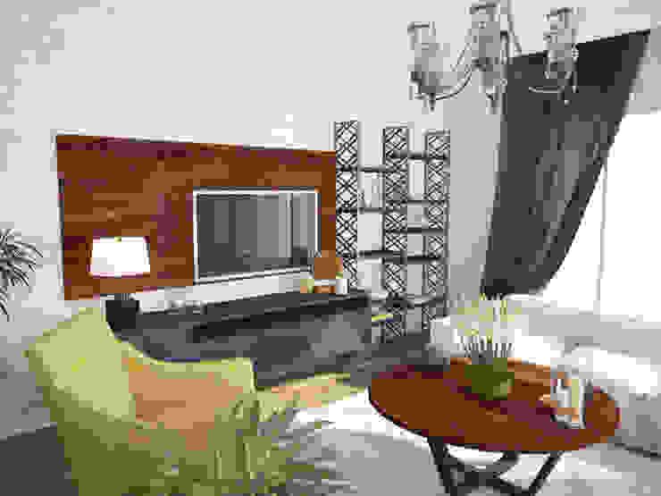Modern living room by Öykü İç Mimarlık Modern