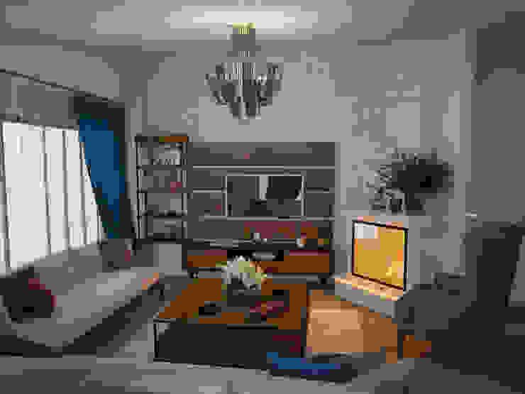 Öykü İç Mimarlık 现代客厅設計點子、靈感 & 圖片