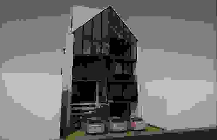 Fachada principal. Casas modernas de Esse Studio Moderno Concreto