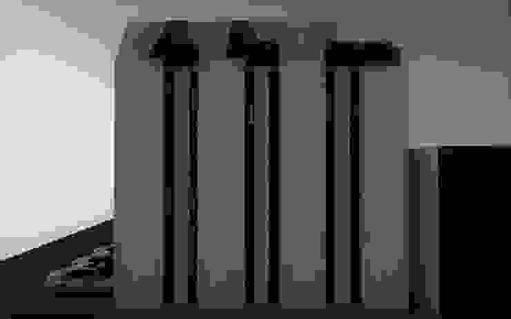 Fachada este. Casas modernas de Esse Studio Moderno Concreto