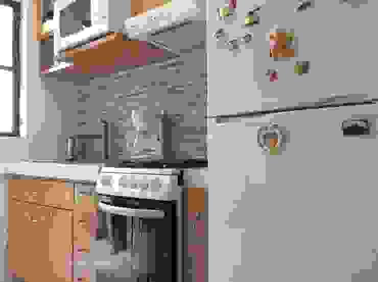 Remodelación Cocina Cocinas modernas de InGeniotika Moderno Madera Acabado en madera