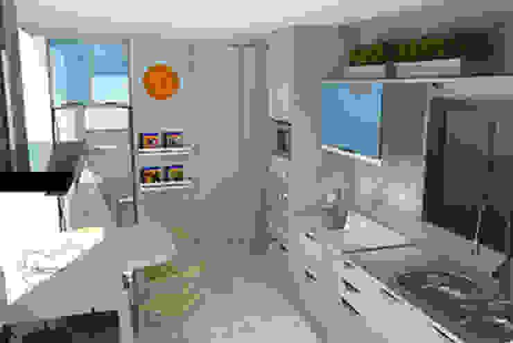 Decoropravocê - Decoração ao seu alcance. Scandinavian style kitchen White