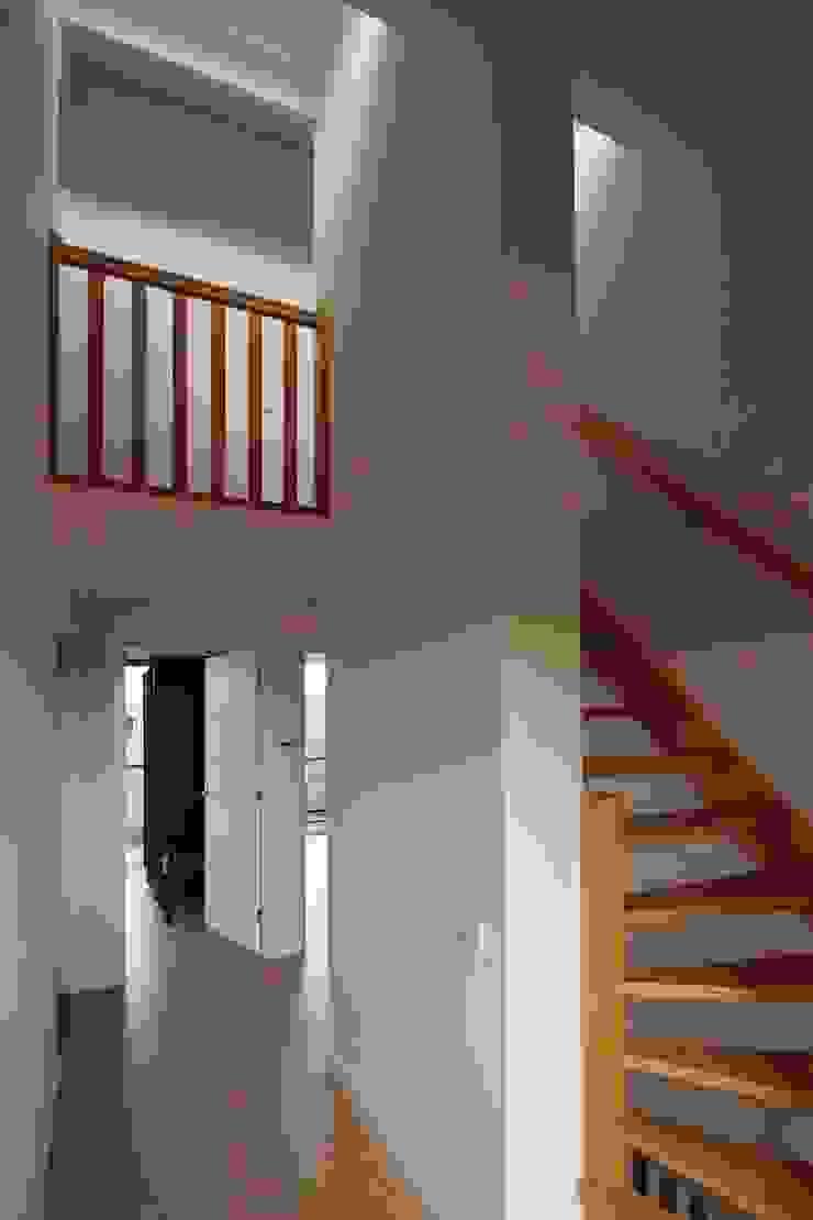 Trap Moderne gangen, hallen & trappenhuizen van Erik Knippers Architect Modern