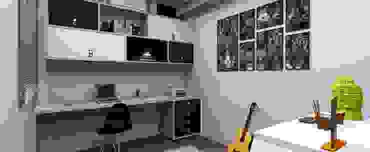 MV Arquitetura e Design Minimalist study/office