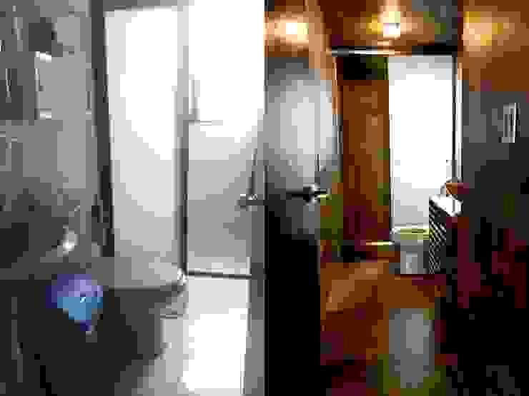 Baño Antes/Después. Baños modernos de Eidética Moderno