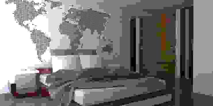 REMODELACION/AMPLIACION Dormitorios modernos de Eidética Moderno