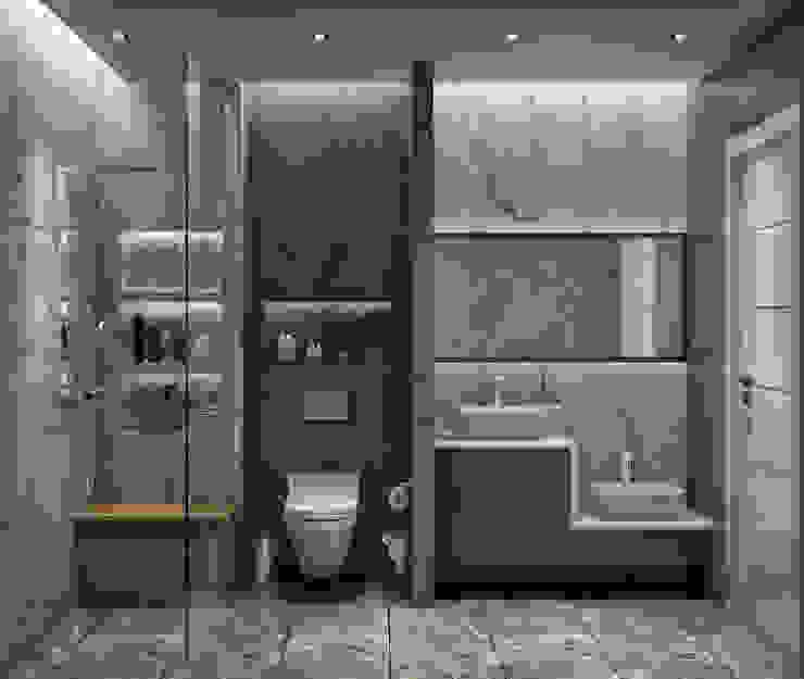 Kabu Desıgn – Saklıbahçe Banyo: modern tarz , Modern
