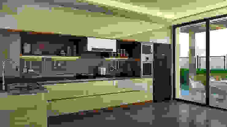 Kabu Desıgn – Saklıbahçe Mutfak: modern tarz , Modern