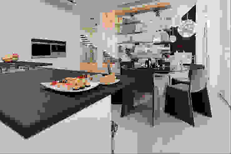 Annalisa Carli Modern Mutfak Ahşap Beyaz