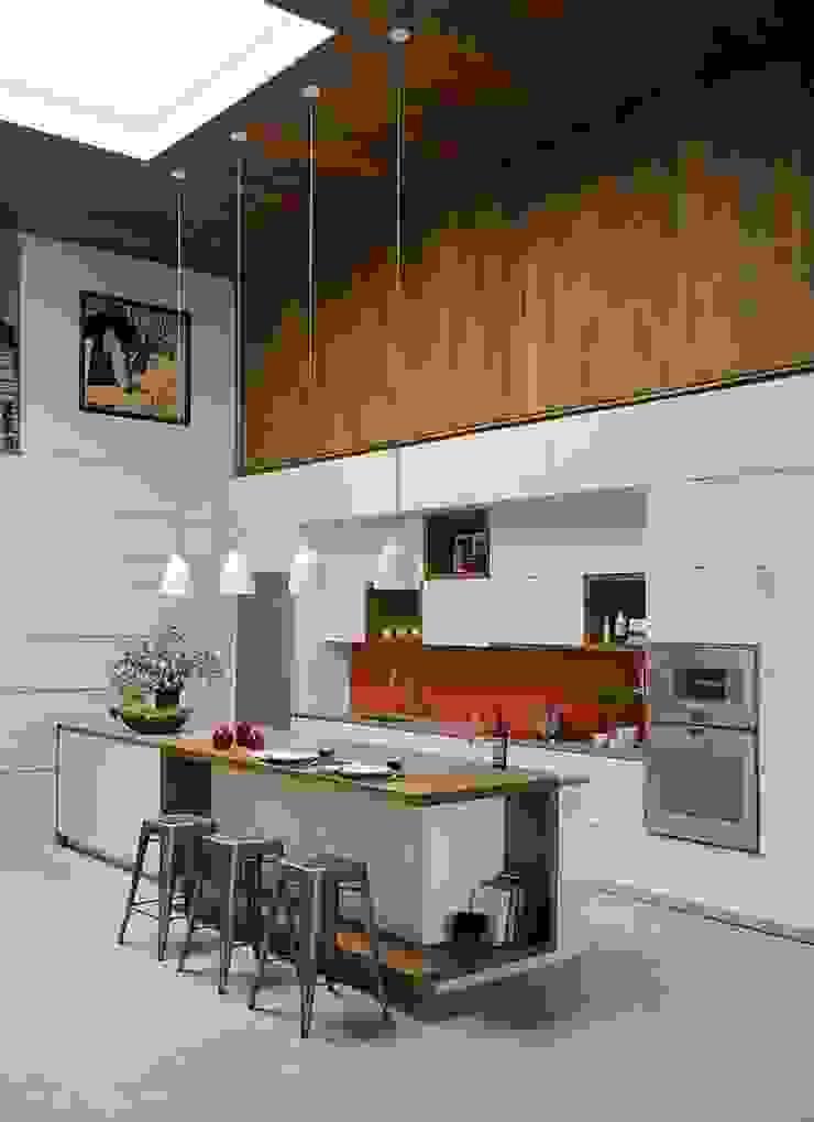 liva decor – yenilikçi mutfaklar: modern tarz , Modern Ahşap Ahşap rengi