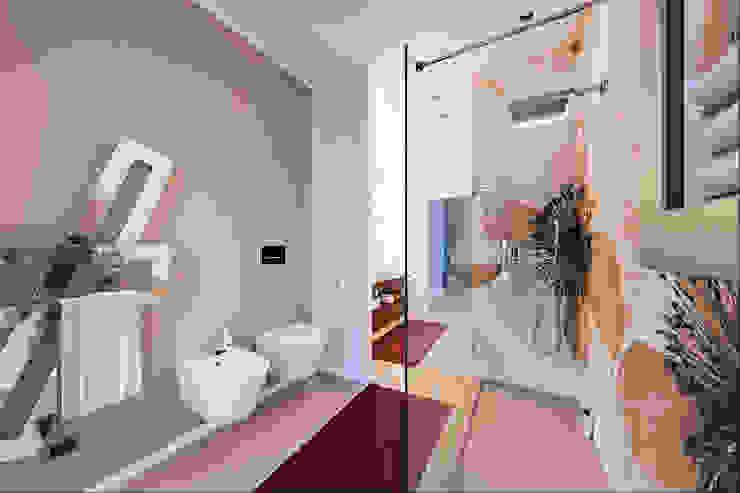 Baños de estilo moderno de Annalisa Carli Moderno Madera Acabado en madera
