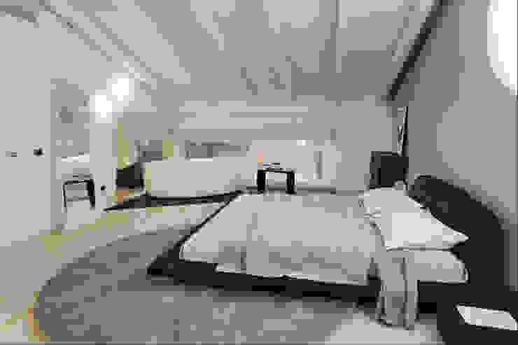 Annalisa Carli Modern Yatak Odası Masif Ahşap Kahverengi