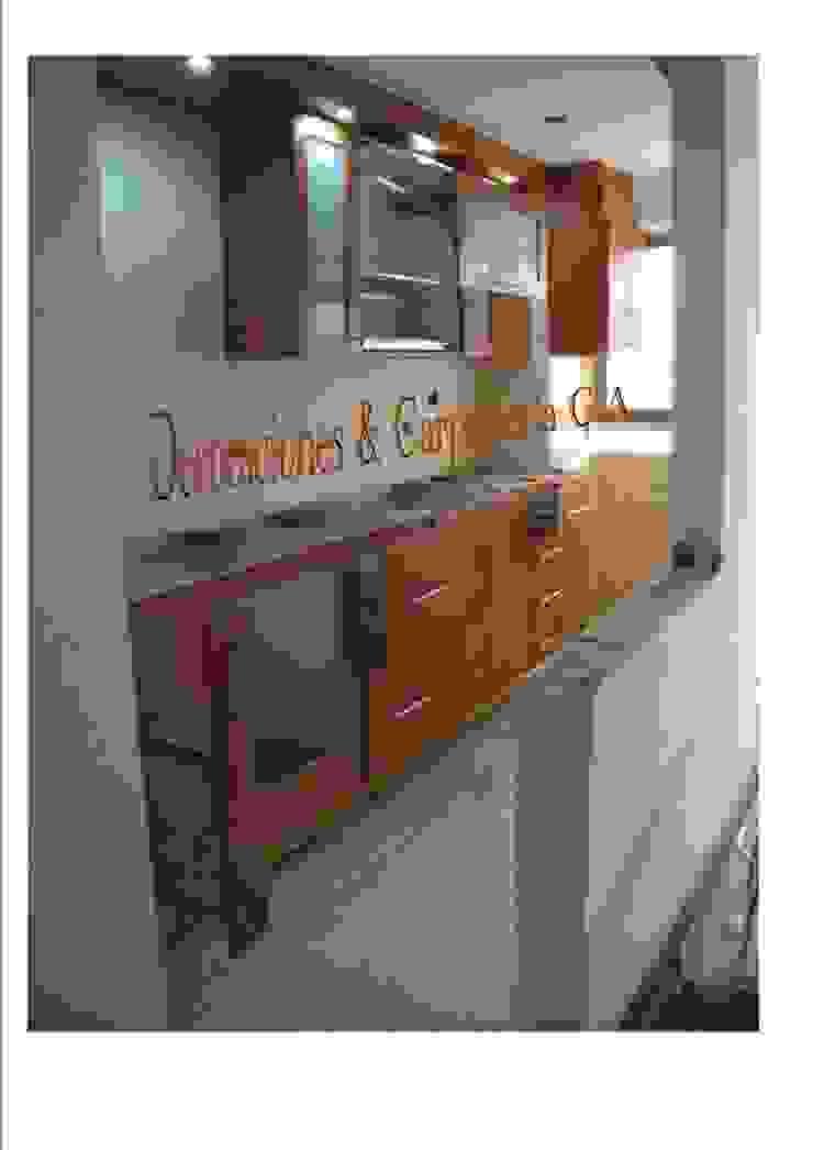 COCINA HAYA Cocinas de estilo moderno de CARPINTERIA GUERRERO AMUNDARAIN Moderno