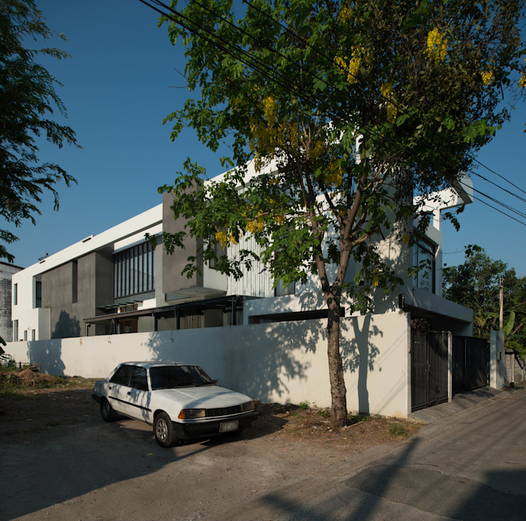 Bangna House โดย Archimontage Design Fields Sophisticated