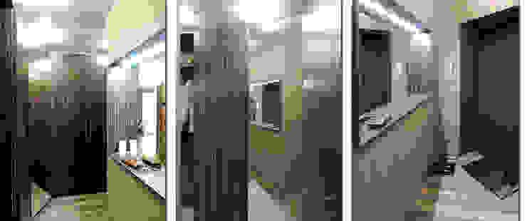 Студия 'Облако-Дизайн' Ingresso, Corridoio & Scale in stile eclettico