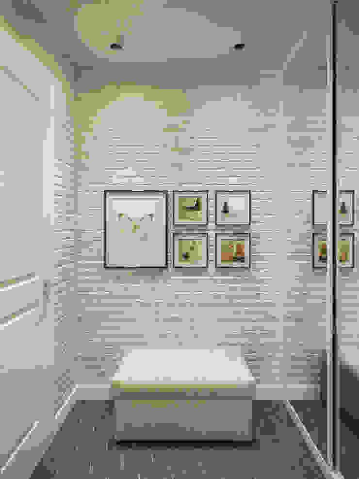 Scandinavian style corridor, hallway& stairs by Студия дизайна интерьера Маши Марченко Scandinavian