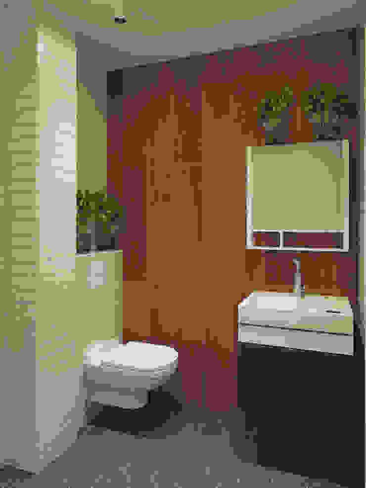 Scandinavian style bathroom by Студия дизайна интерьера Маши Марченко Scandinavian