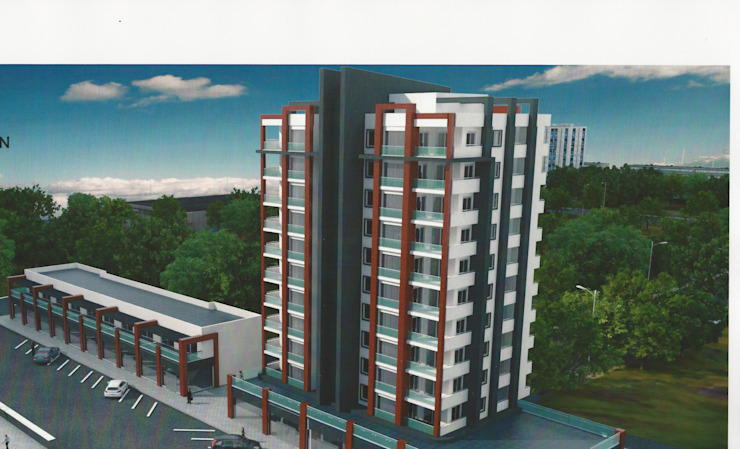 Mersin Bina Proje Modern Evler SOPHISTIC DESIGN Modern