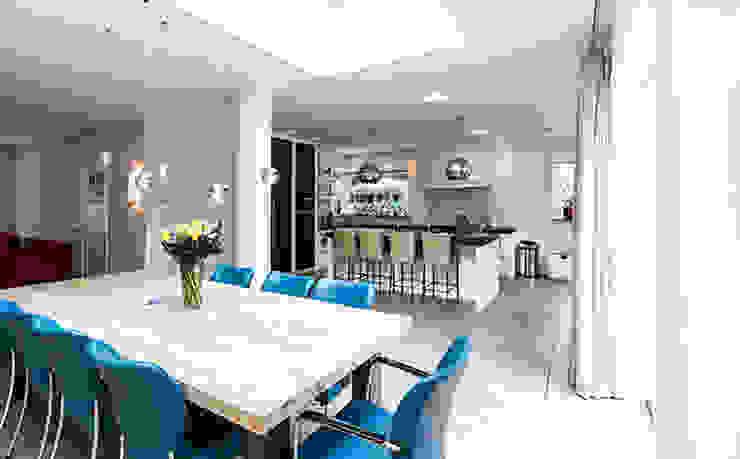 JAREN 30-HUIS | GESTRIPT Moderne eetkamers van WEBERontwerpt | architectenbureau Modern
