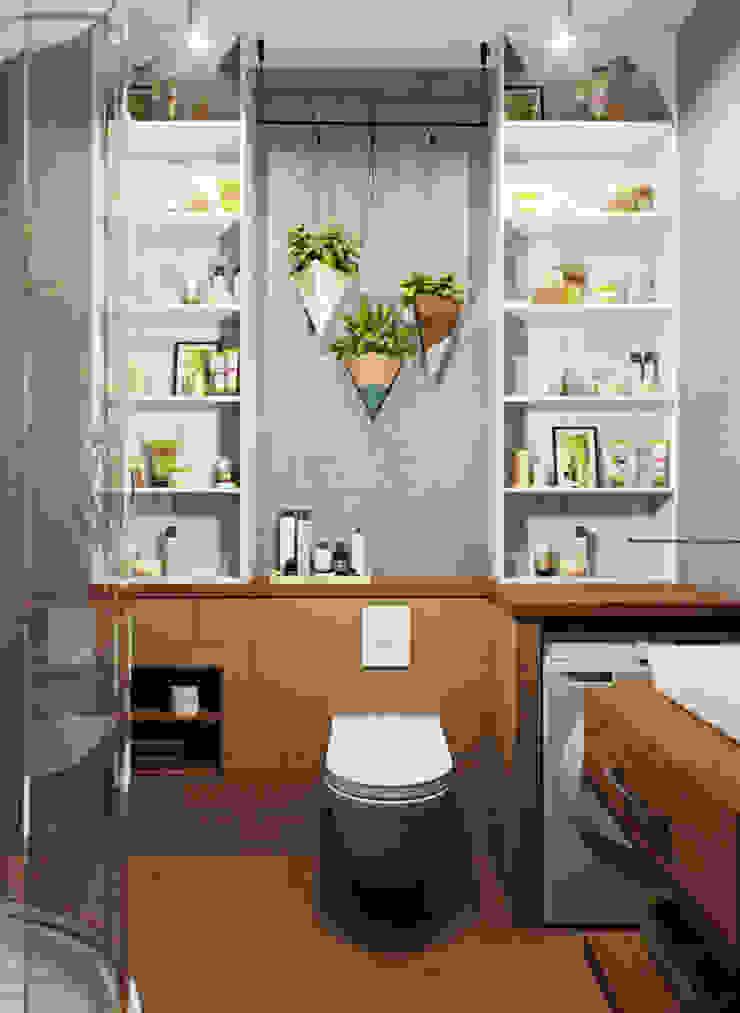 Modern bathroom by Студия дизайна интерьера Маши Марченко Modern