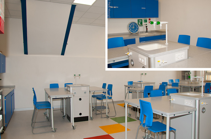 St. George's British School Modern Study Room and Home Office by NOS Design Modern