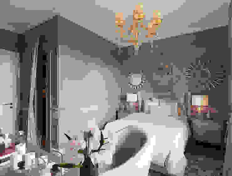 Klassische Schlafzimmer von Студия дизайна интерьера Маши Марченко Klassisch