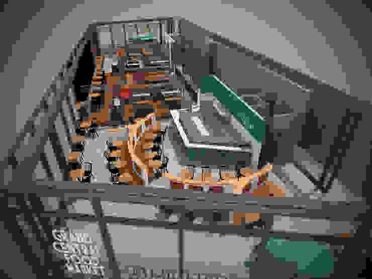 Grand Central Food Market | Interieur Ontwerp Bar – Restaurant van Tubbs design