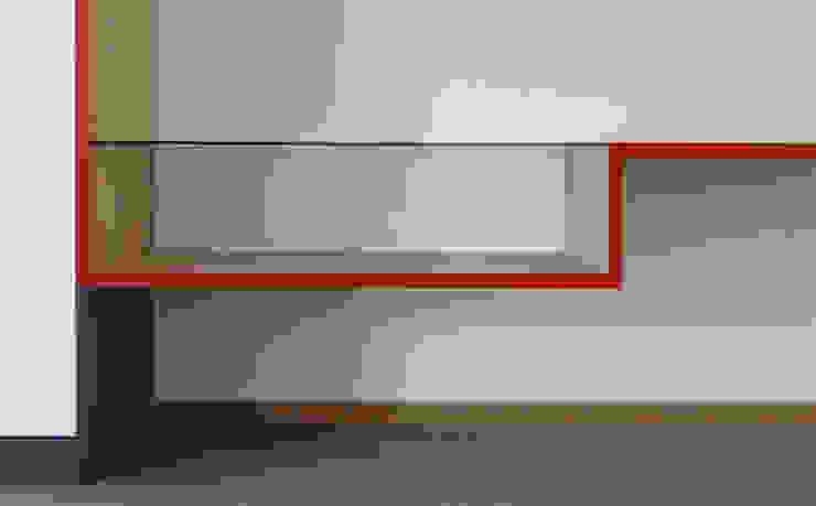 WANDKAST | SKYLINE: modern  door WEBERontwerpt | architectenbureau, Modern