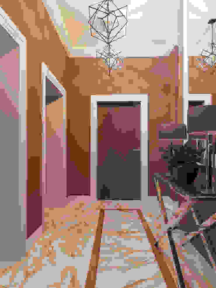 Modern Corridor, Hallway and Staircase by Студия дизайна интерьера Маши Марченко Modern