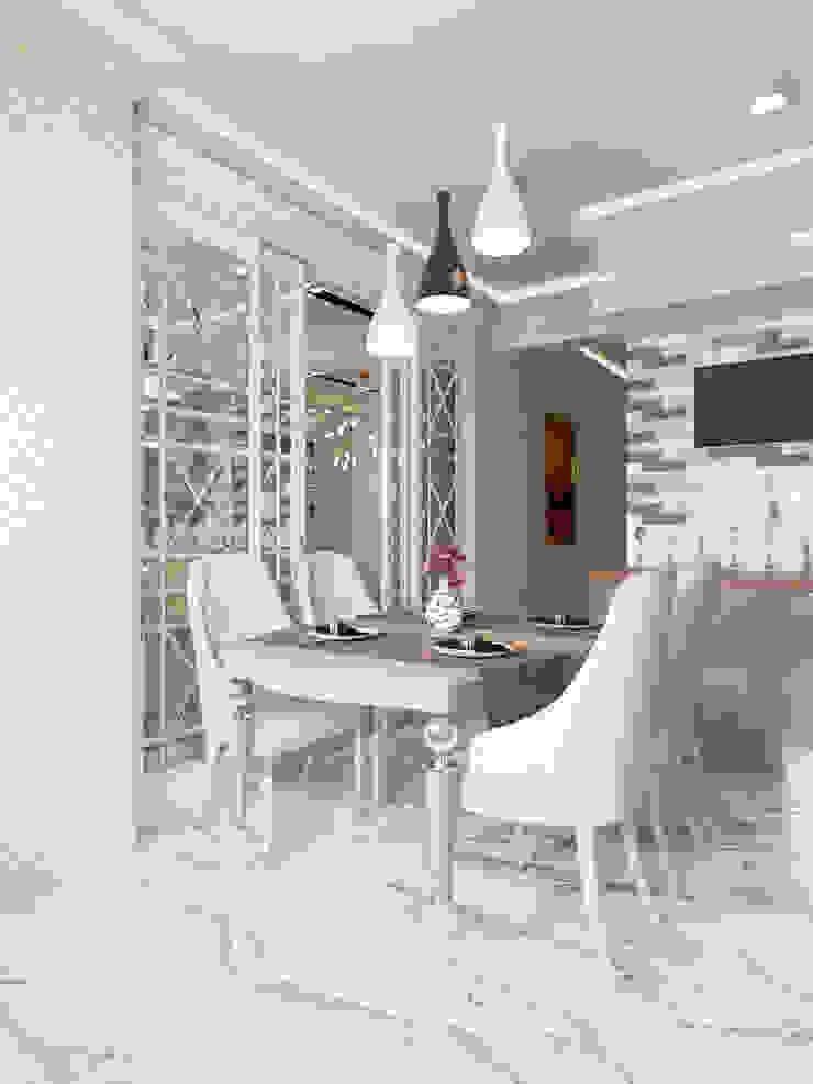 Modern kitchen by Студия дизайна интерьера Маши Марченко Modern