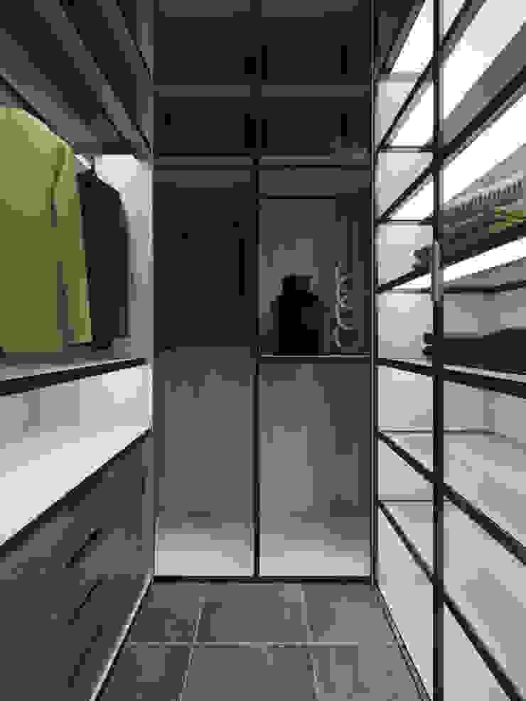 Modern dressing room by Студия дизайна интерьера Маши Марченко Modern