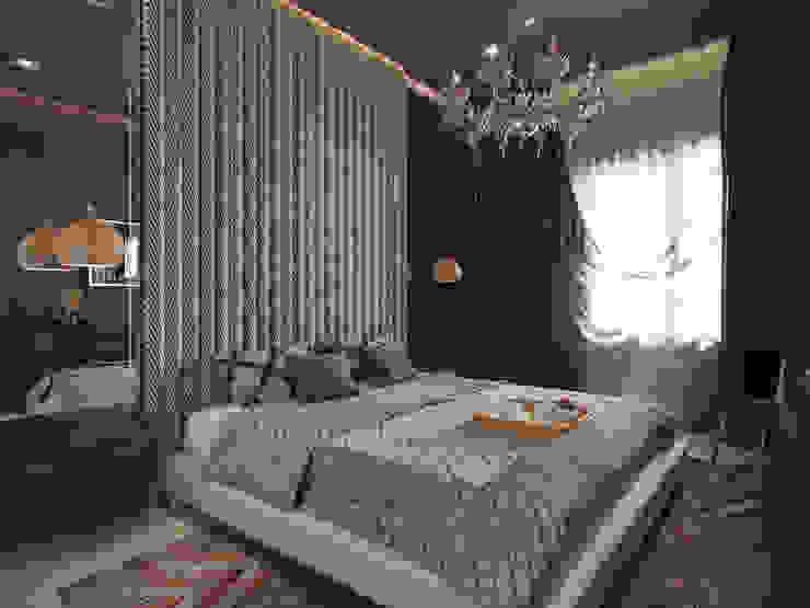 Phòng ngủ phong cách hiện đại bởi Студия дизайна интерьера Маши Марченко Hiện đại