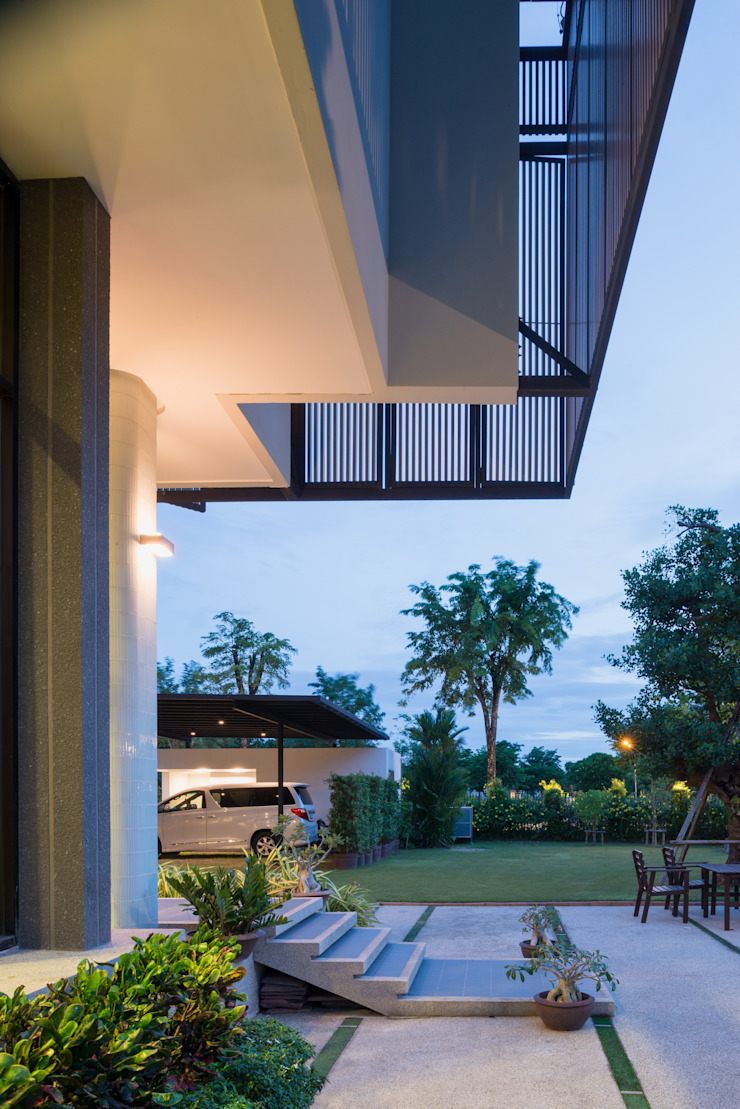 Tiwanon House โดย Archimontage Design Fields Sophisticated