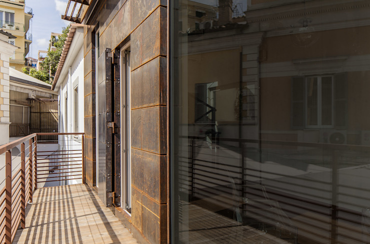 RISTORANTE MACELLO Rustic style house by NOS Design Rustic