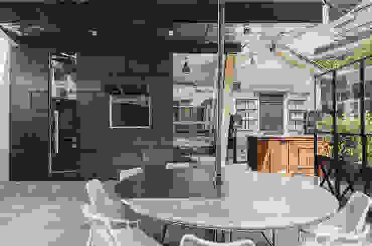 RISTORANTE MACELLO Modern Terrace by NOS Design Modern