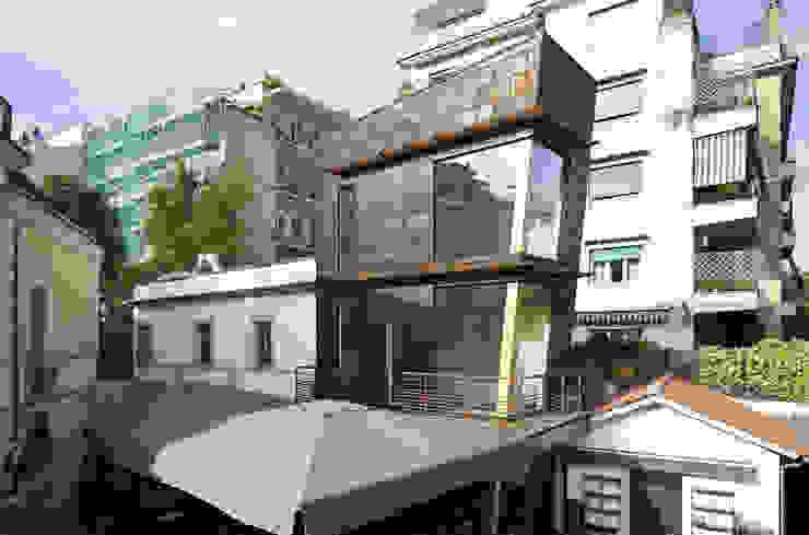 RISTORANTE MACELLO Modern Houses by NOS Design Modern Wood Wood effect