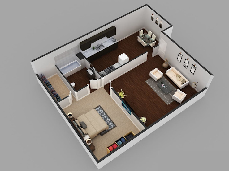 Architectural Floor Plan by KCL-Solutions