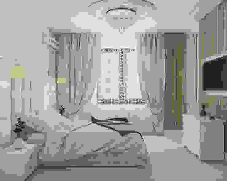 غرفة نوم تنفيذ Mantra_design