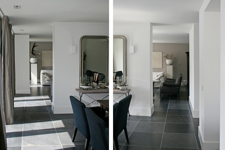 Eetlamer/ living Moderne woonkamers van Doreth Eijkens | Interieur Architectuur Modern