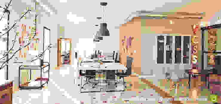 Diseño y decoración en Zona comercial y marketing Estudios y despachos de estilo moderno de A interiorismo by Maria Andes Moderno Contrachapado