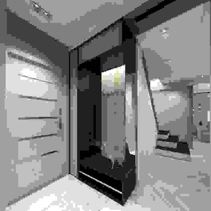 Лето Дизайн Eklektyczny korytarz, przedpokój i schody