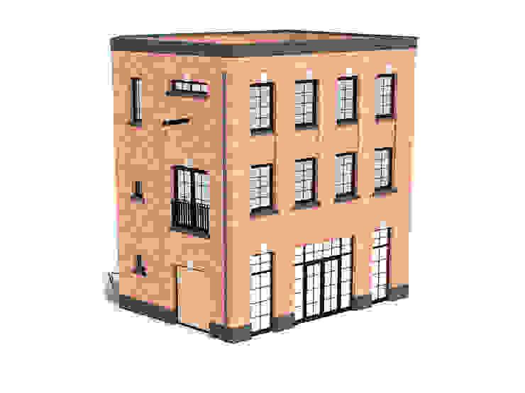 Woonpakhuis Emmerink-Rutgers Klassieke huizen van 10voor2 Architecten Klassiek